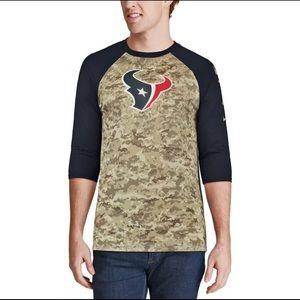 Nike Houston Texans Salute To Service Large Shirt